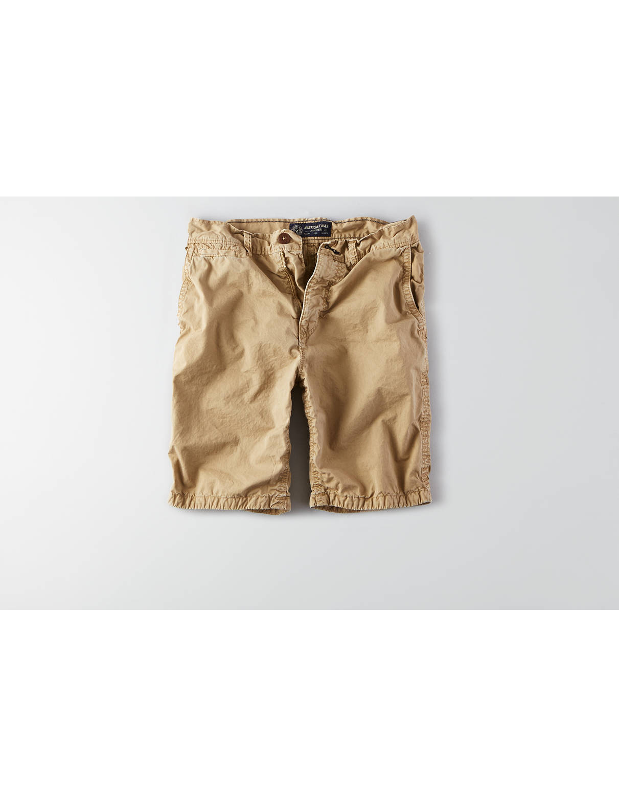Display product reviews for AEO Prep Flat Front Short
