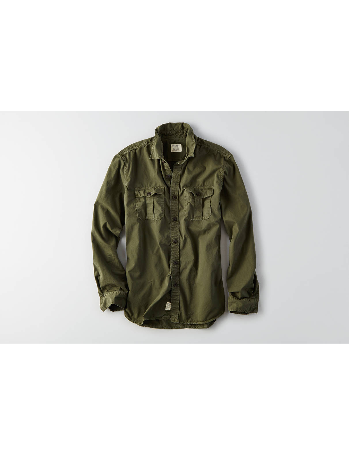 Display product reviews for AEO Military Shirt Jacket