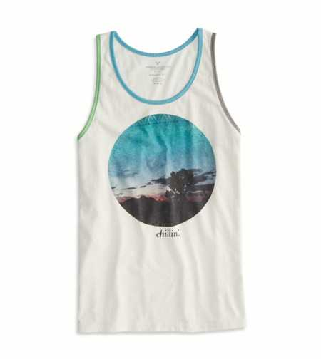 AE Photo Real Ringer Tank - Buy One Get One 50% Off