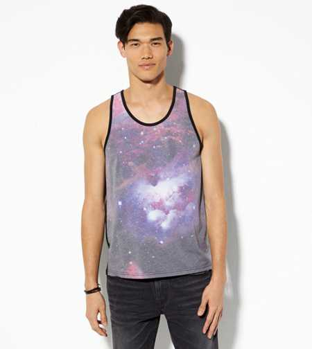 AE Photo Real Galaxy Tank Top