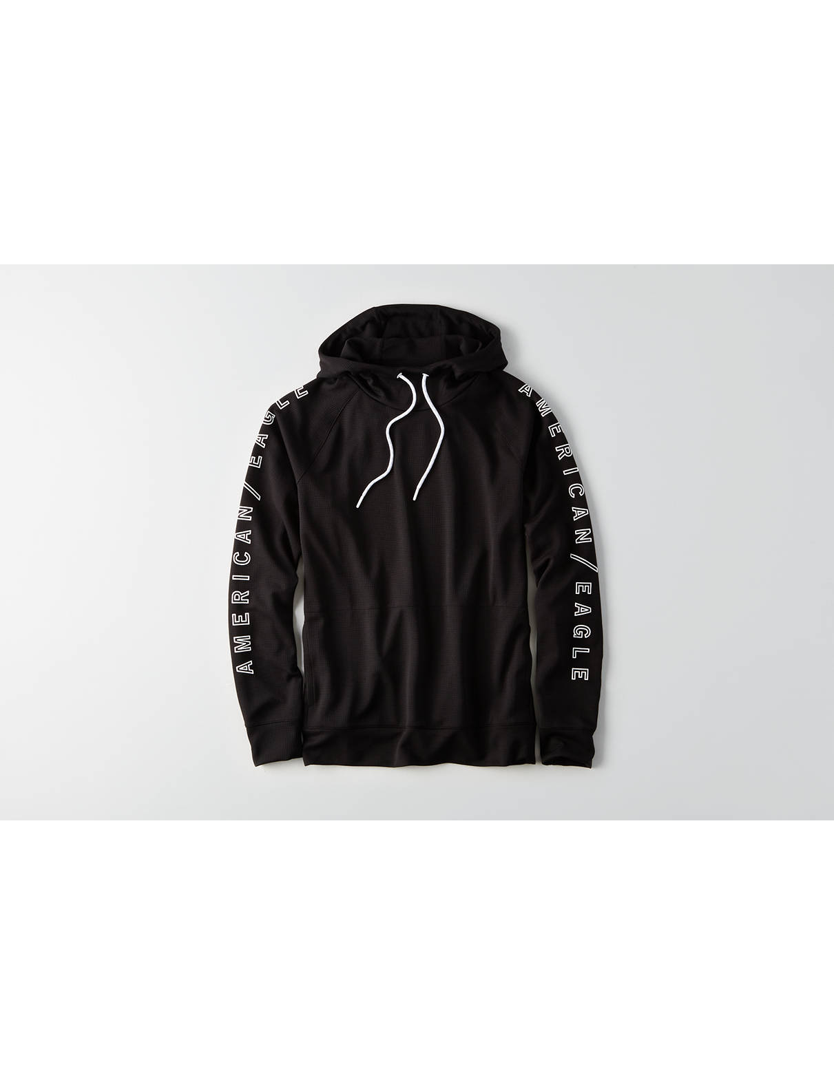 Display product reviews for AE Active Graphic Waffle Hoodie