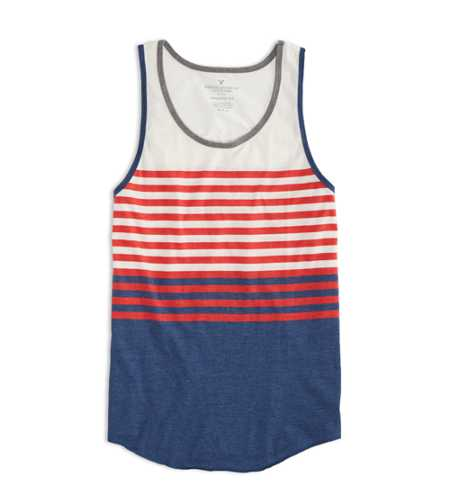 AE Striped Tank - Buy One Get One 50% Off