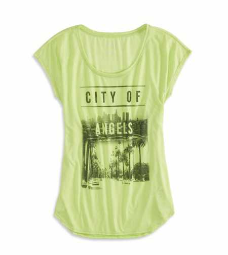 AE City Of Angels Graphic T-Shirt