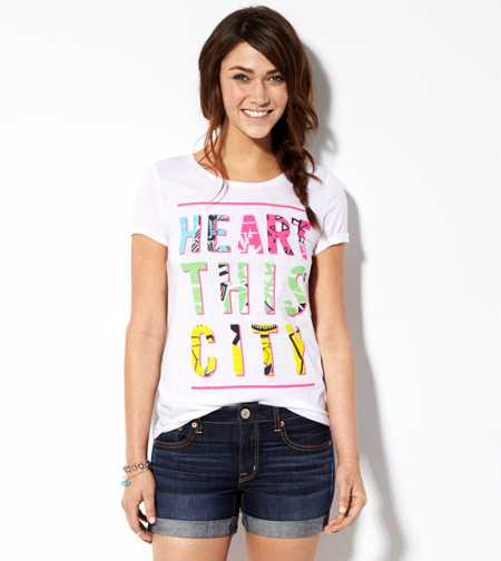 AE Heart This City T-Shirt - Buy One Get One 50% Off