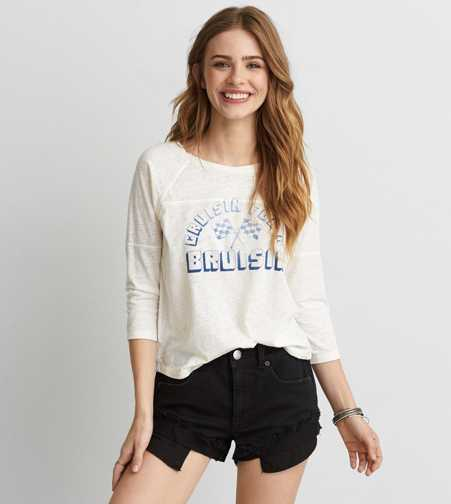 AEO Cruisin' Baseball T-Shirt