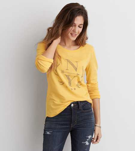 AEO Southwestern Graphic T-Shirt