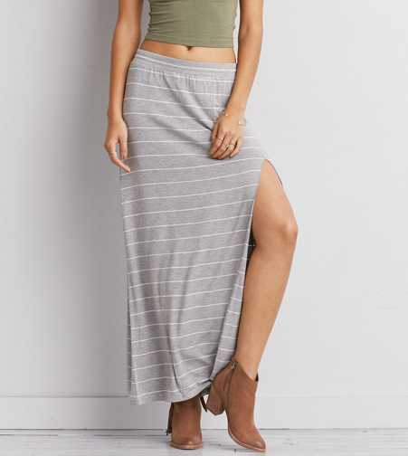 AEO Stripe Maxi Skirt