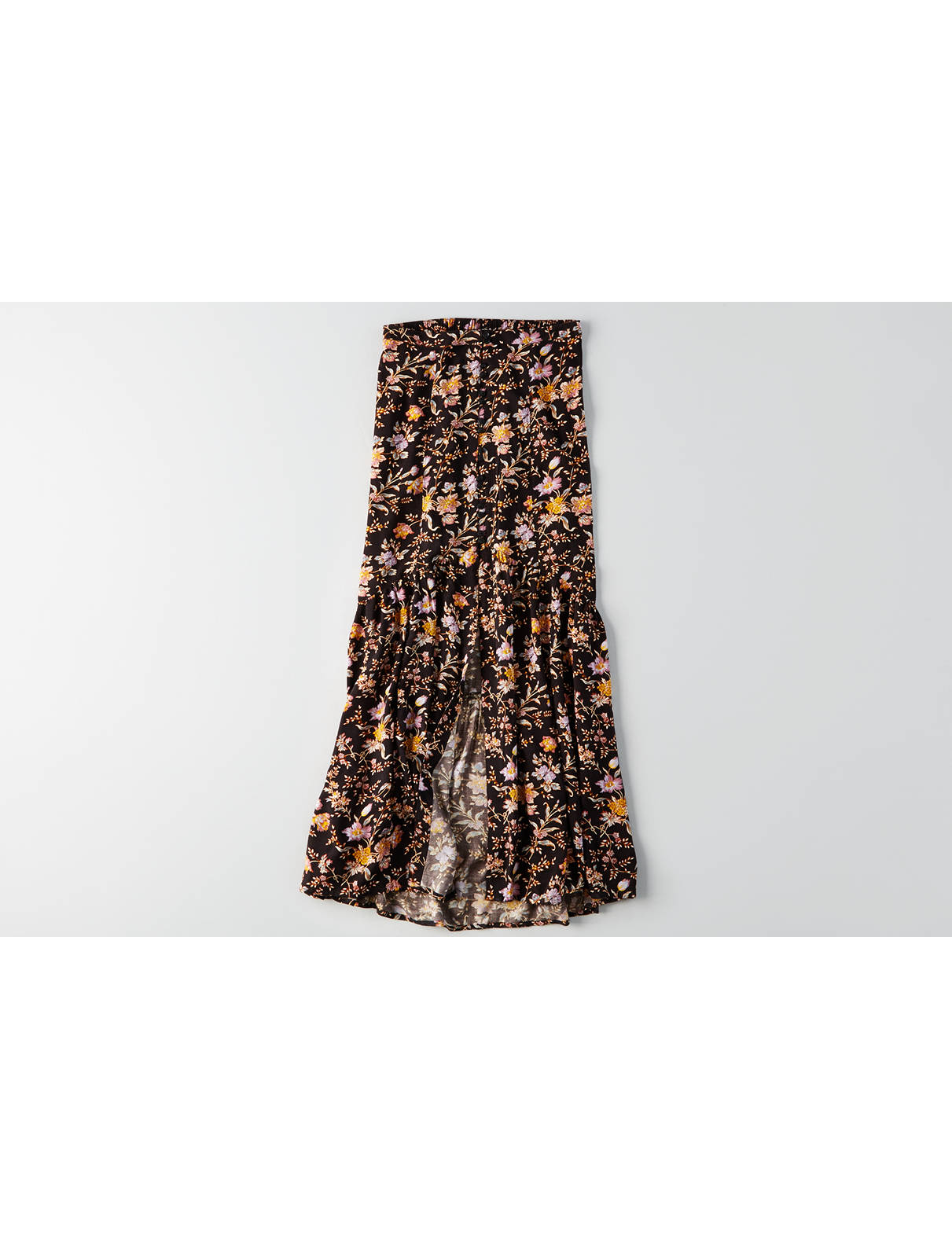 Display product reviews for AEO Button Front Maxi Skirt
