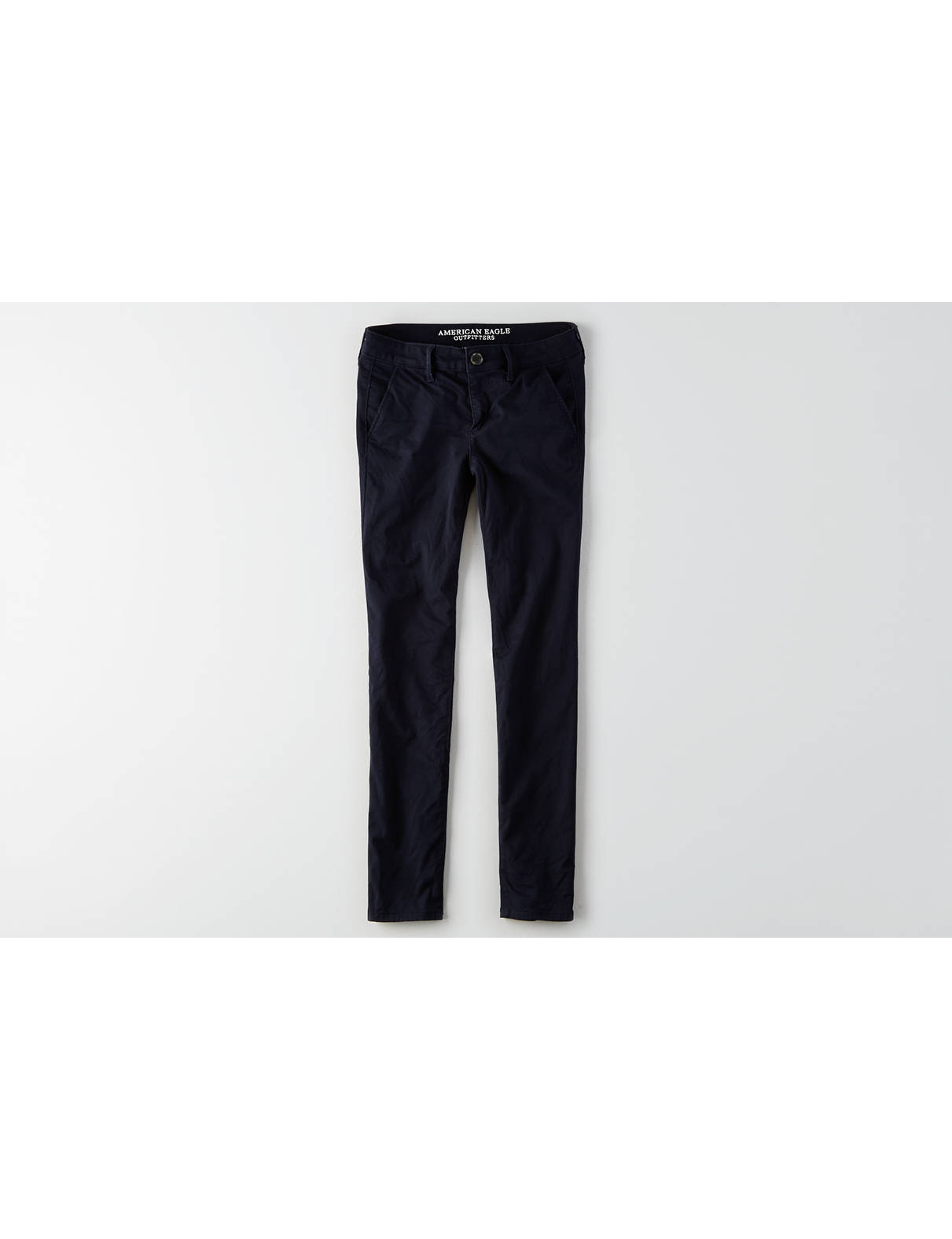 Display product reviews for AEO Twill X Skinny