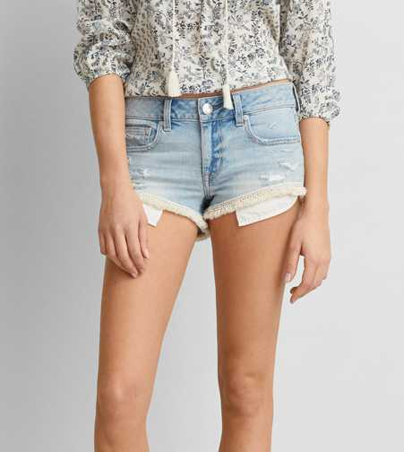 AEO Denim Shortie