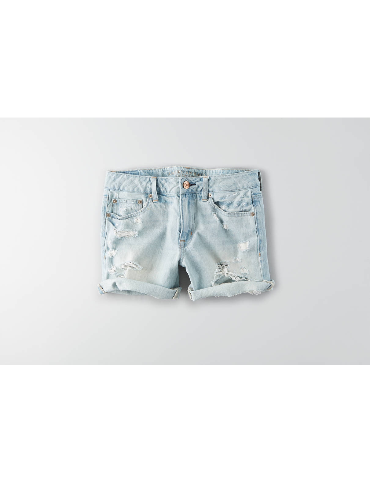 Display product reviews for AEO Boy Midi Short