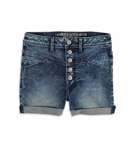 AE Sky High Acid Wash Shortie