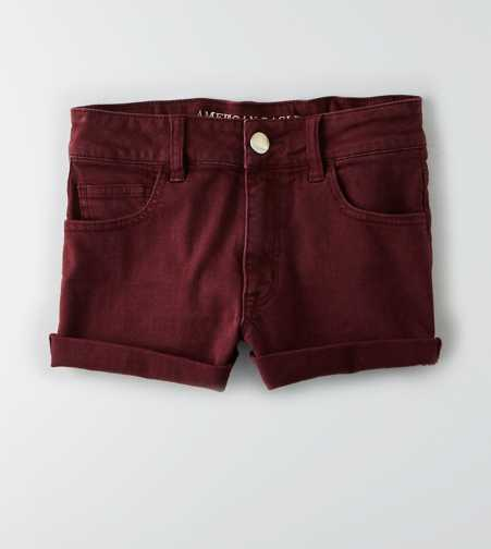 AEO Denim X Hi-Rise Shortie