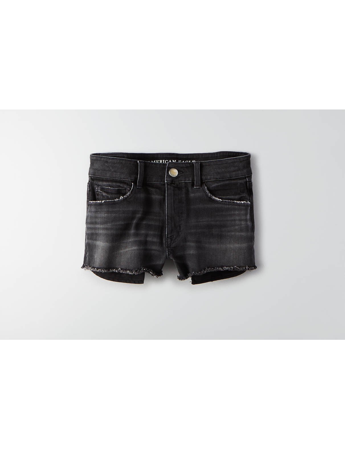 Display product reviews for AEO Denim X4 Hi-Rise Shortie