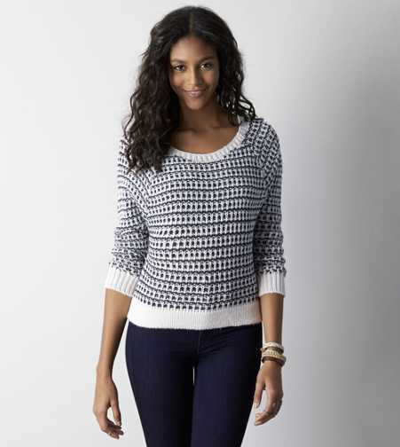 AEO Soft Knit Crew Sweater