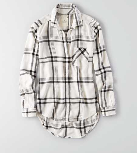 AEO Canyon Boyfriend Flannel