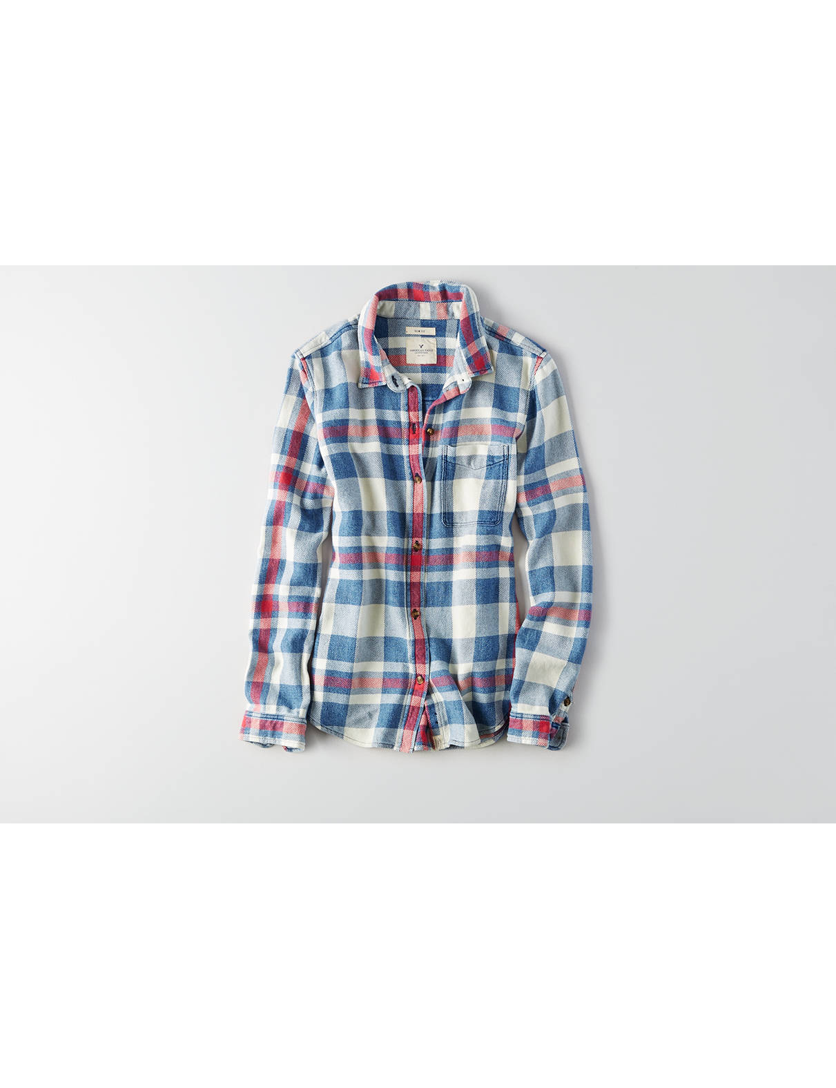 Display product reviews for AEO Flannel Shirt Jacket
