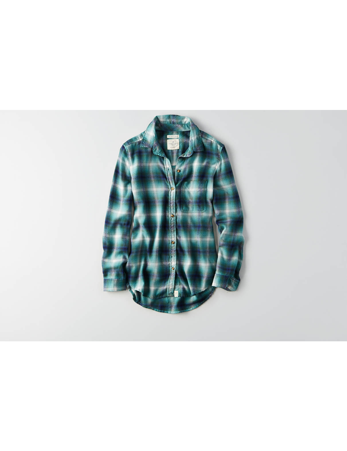 Display product reviews for AEO Ahh-mazingly Soft Plaid Shirt