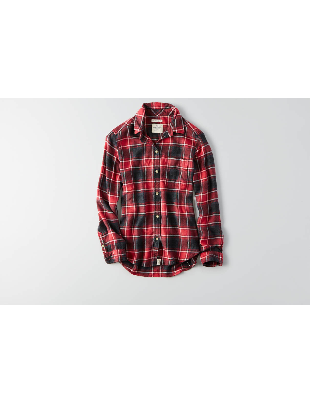 Flannels & Plaid Shirts for Women | American Eagle Outfitters