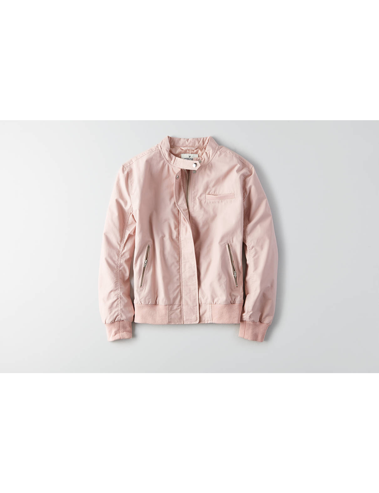 Display product reviews for AEO Bomber Jacket