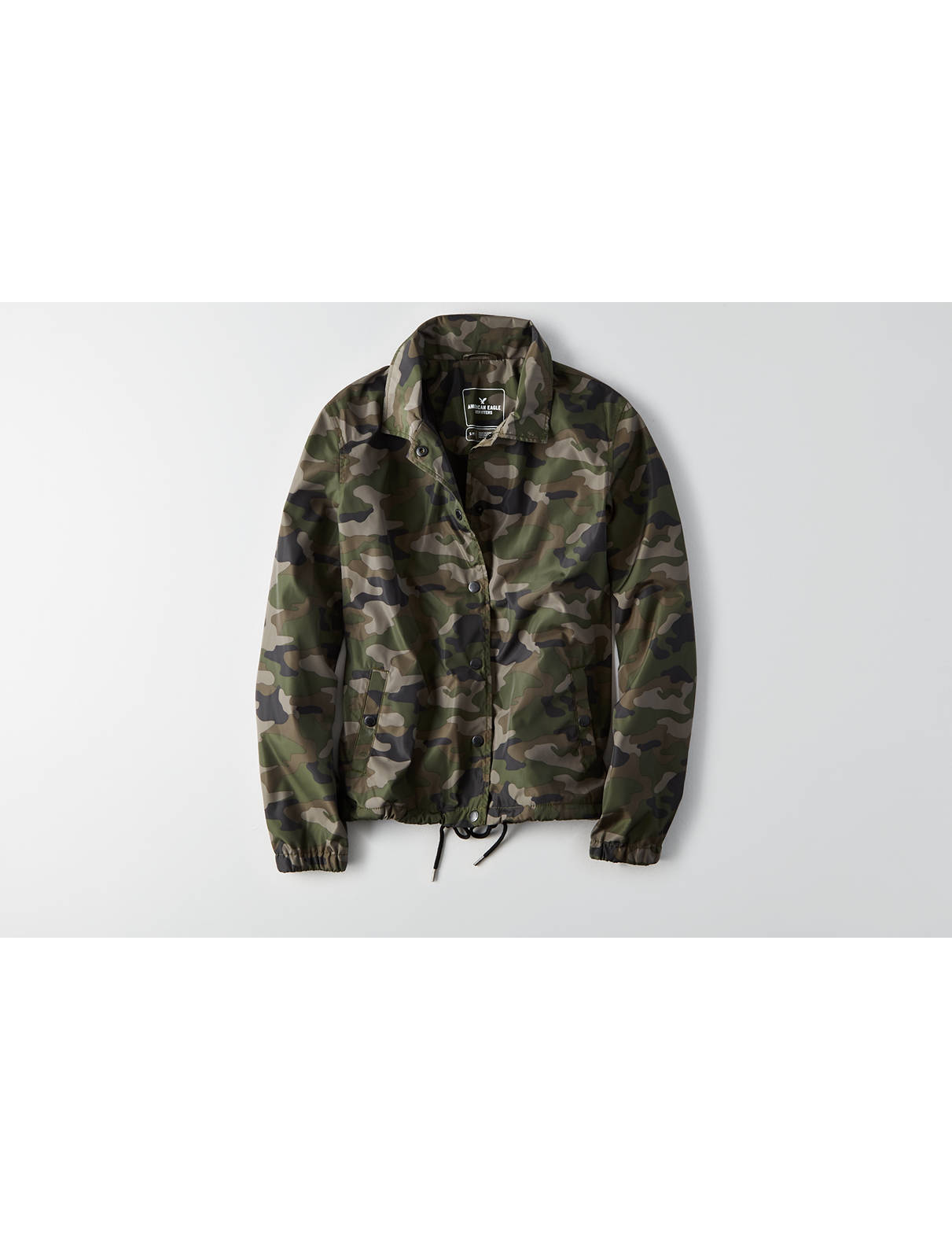 Display product reviews for AEO Camo Windbreaker