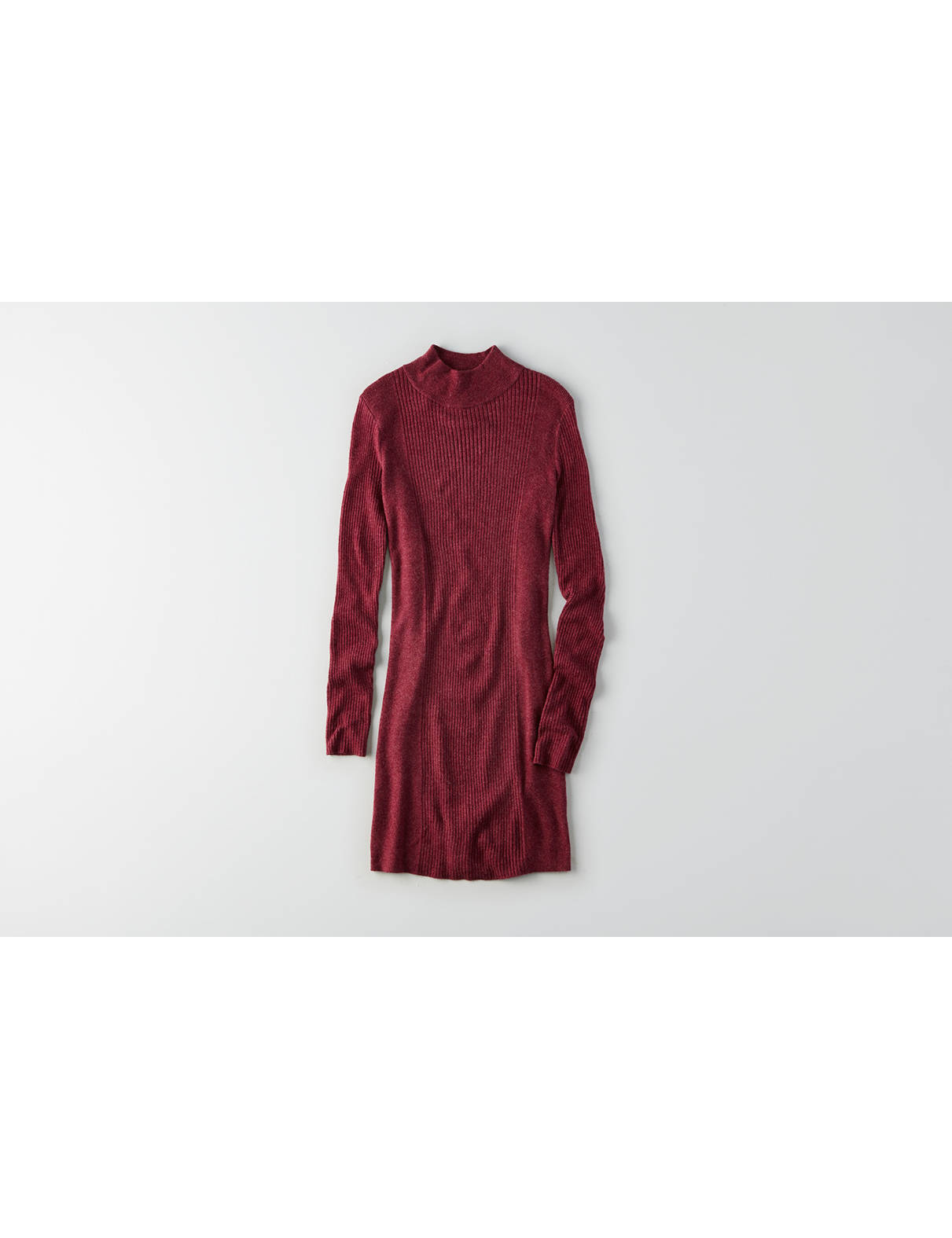 Display product reviews for AEO Mock Neck Sweater Dress