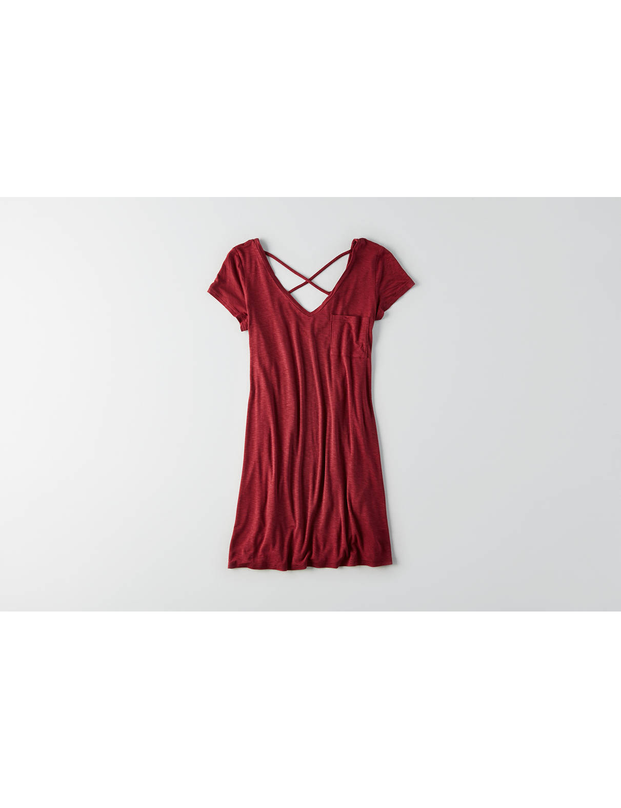 Display product reviews for AEO Cross-Back Shift Dress