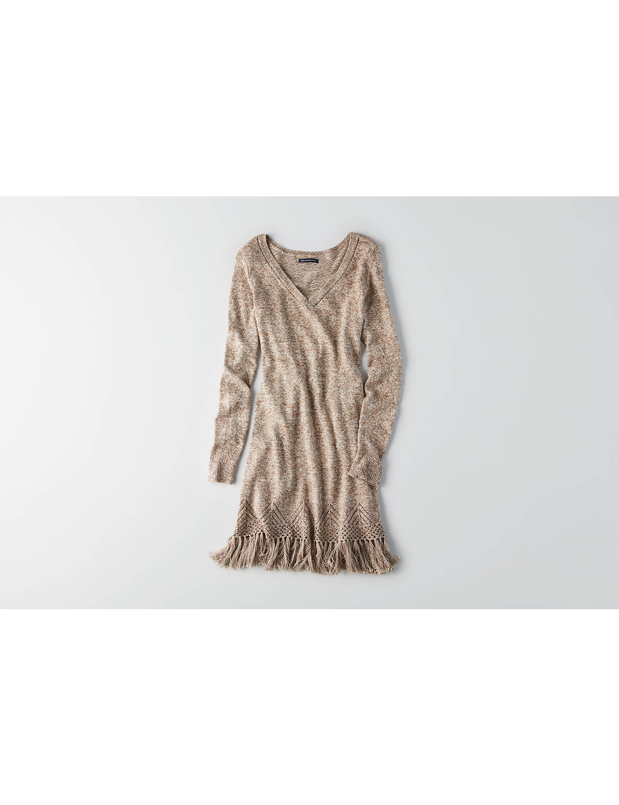 Display product reviews for AEO Fringe Sweater Dress