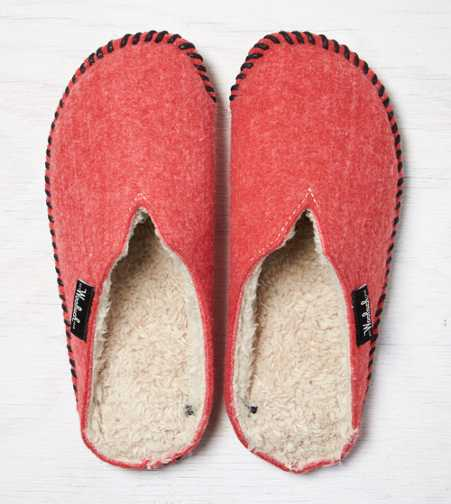 Woolrich Felt Mill Scuff Slipper