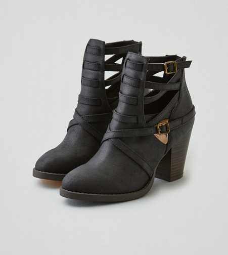 AEO Strappy Heel Bootie  - Free Shipping