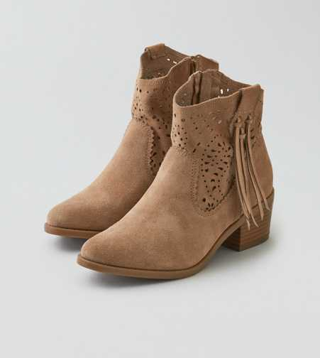 AEO Perforated Western Heel Bootie  - Free Shipping