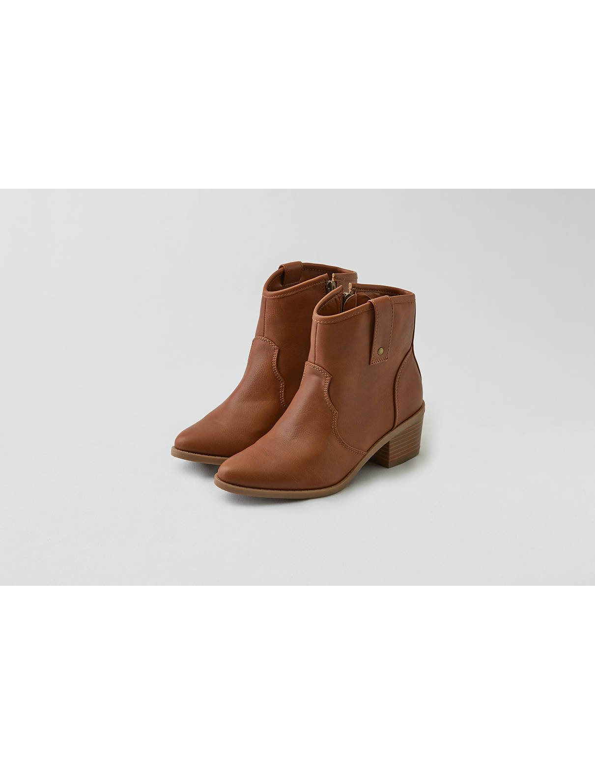 Display product reviews for AEO Side Zip Western Bootie