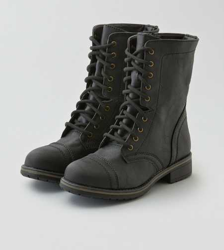 AEO Lace-Up Hammer Boot  - Free Shipping