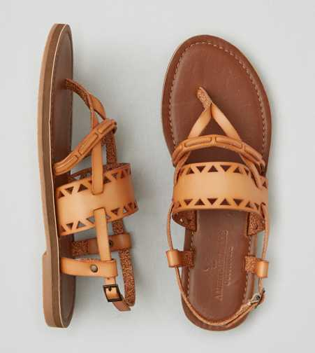 AEO Cutout Buckle Sandals  - Free Shipping