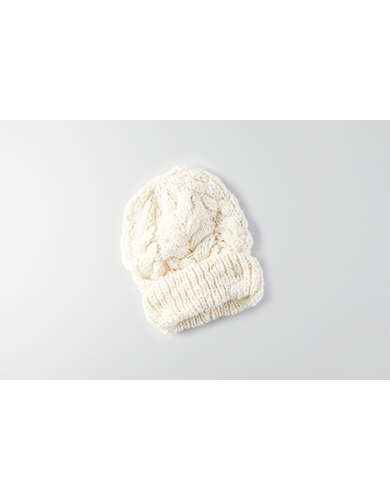 AEO Cable Knit Beanie  -