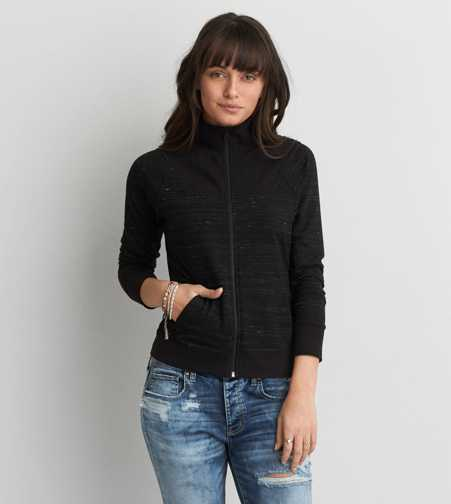 AEO Mock Neck Jacket