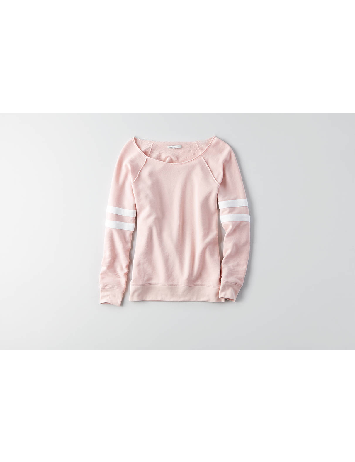Display product reviews for AEO Off-the-Shoulder Sweatshirt