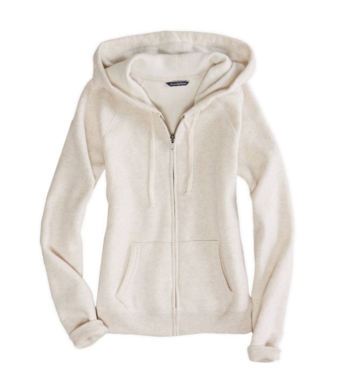 Chalk AE Real Soft Full-Zip Hoodie