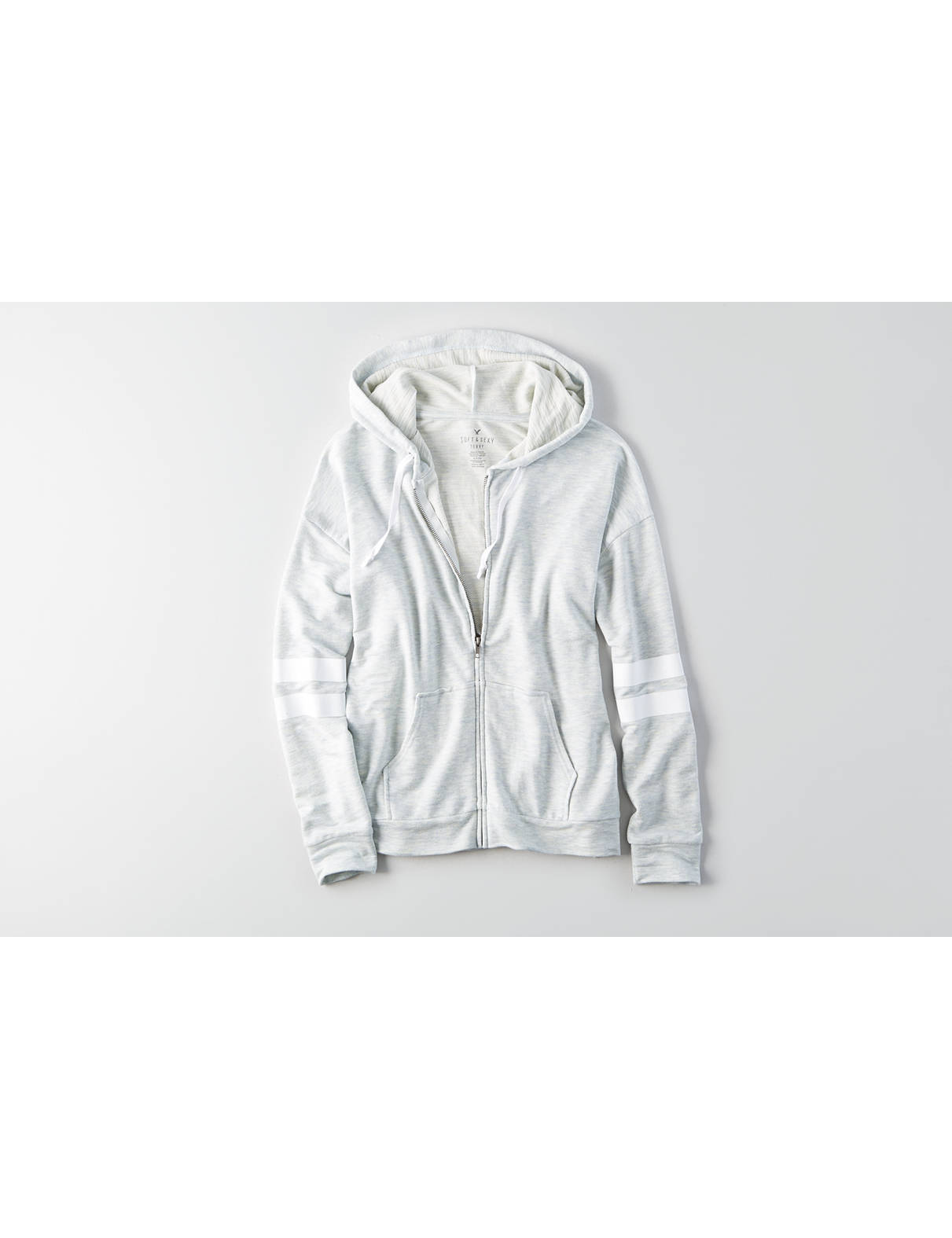 Display product reviews for AEO Soft & Sexy Terry Hoodie