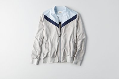 Colorblocked Front Track Jacket