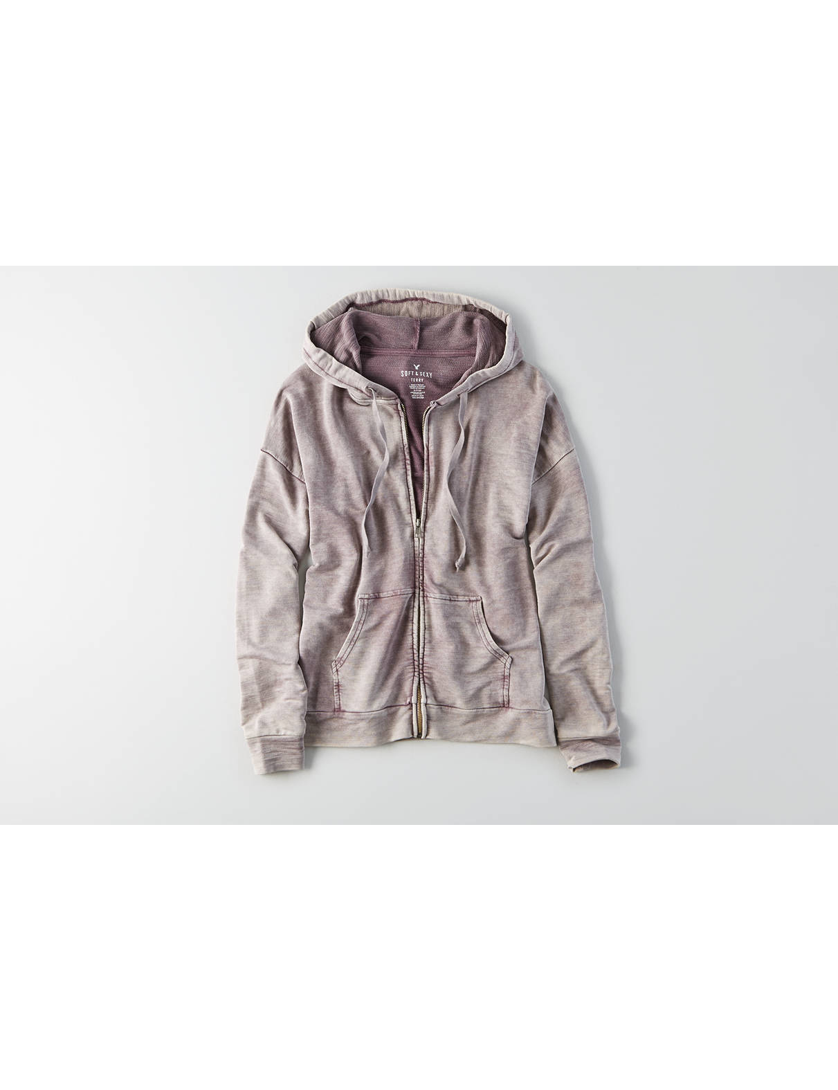 Display product reviews for AEO Soft & Sexy Zip-Up Hoodie