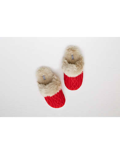 Aerie Cozy Sweater Slipper  -