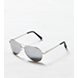 Silver AEO Aviator Sunglasses
