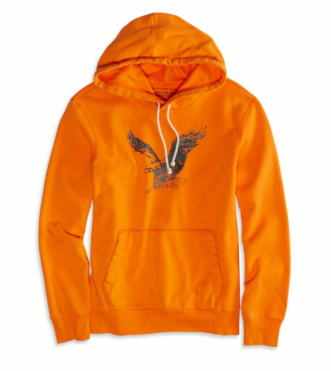 Deep Orange AEO Factory Signature Hooded Pop Over