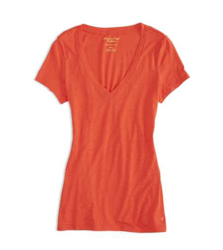 AEO Factory V-Neck Favorite T-Shirt