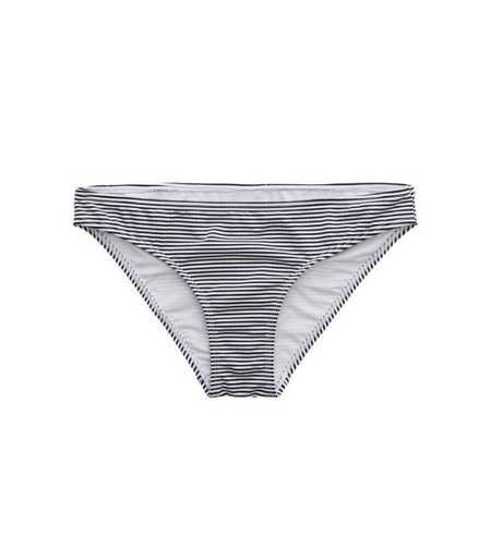 Aerie Seersucker Striped Bikini Bottom