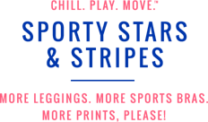 Chill play move sport stars and stripes