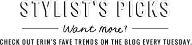 Stylists Picks Want more Check out Erins face trends on the blog every Tuesday