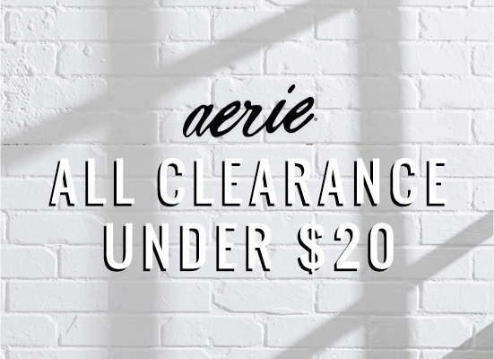 Aerie All Clearance Under 20 dollars