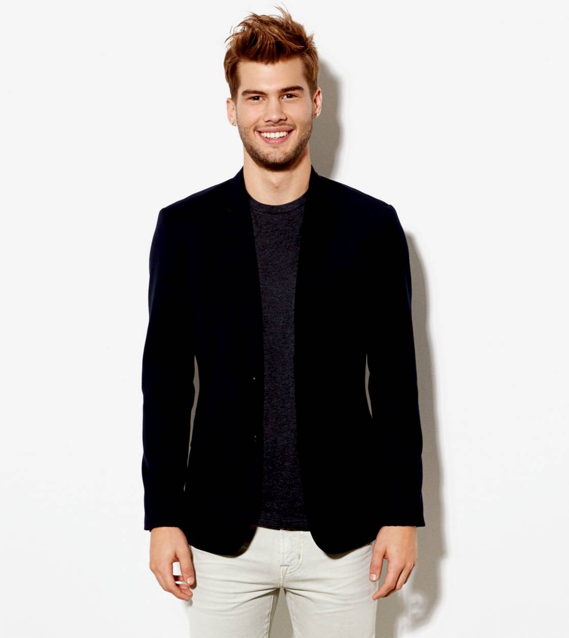 Fleet Navy AE Wool Blazer